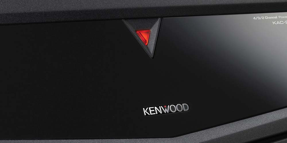 Kenwood Car Amplifier